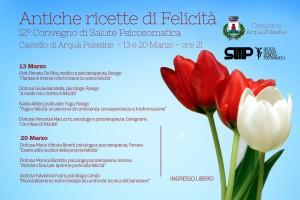 """Seminario """"Antiche ricette di felicità"""" - Castello di Arquà - 23 e 20 marzo 2015 ore 21.00"""