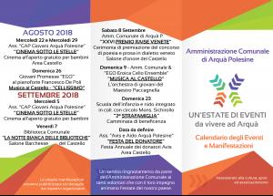 calendario 2018 esterno